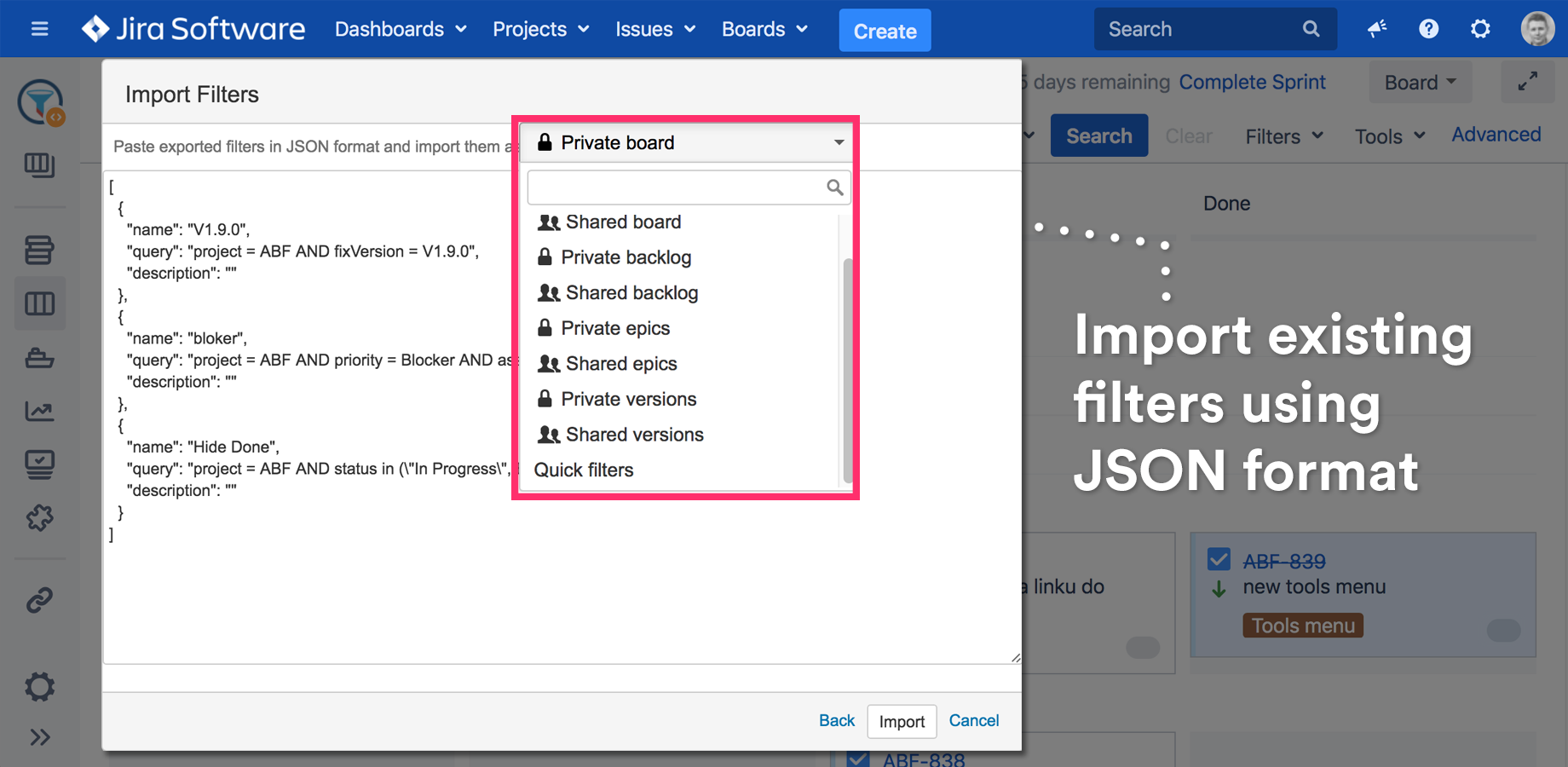 Jira Add-Ons - Agile Tools and Filters for Jira Software