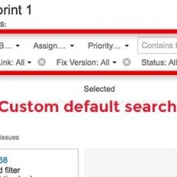 Thumbnail for Ability to configure default search fields on the search bar